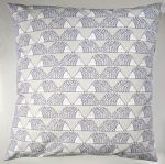 Cushion Cover in Scion Little Spike the Hedgehog Grey